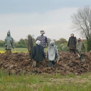 Meeting of Scarecrows